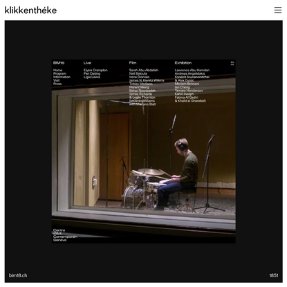 klikkenthéke - neue web design catalogue