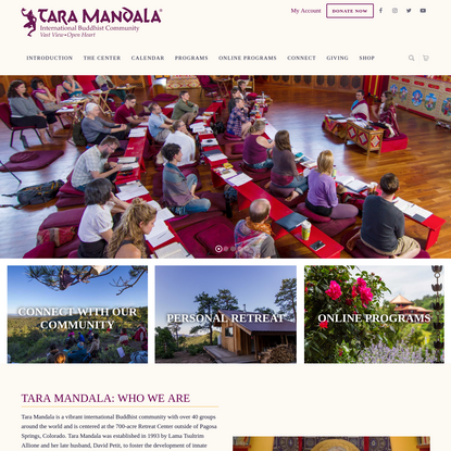 Tara Mandala   International Buddhist Community