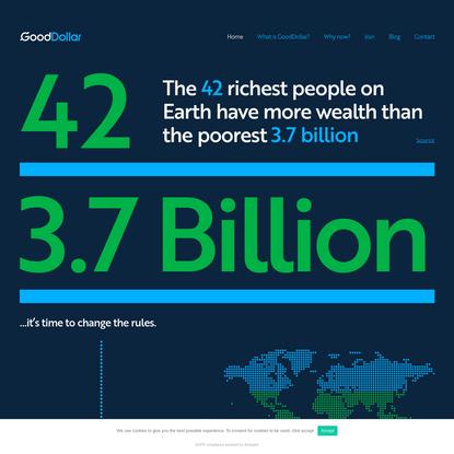 Good Dollar Experiment - UBI on a global scale