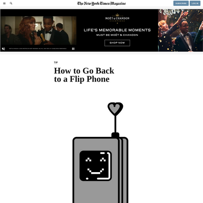 How to Go Back to a Flip Phone