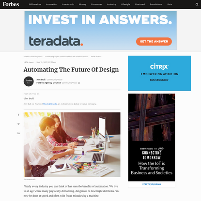 Automating The Future Of Design