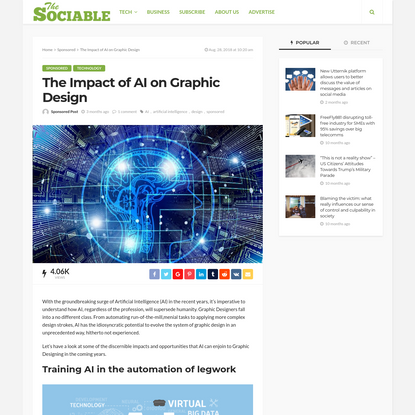 The Impact of AI on Graphic Design