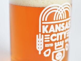 kansas city beer glass