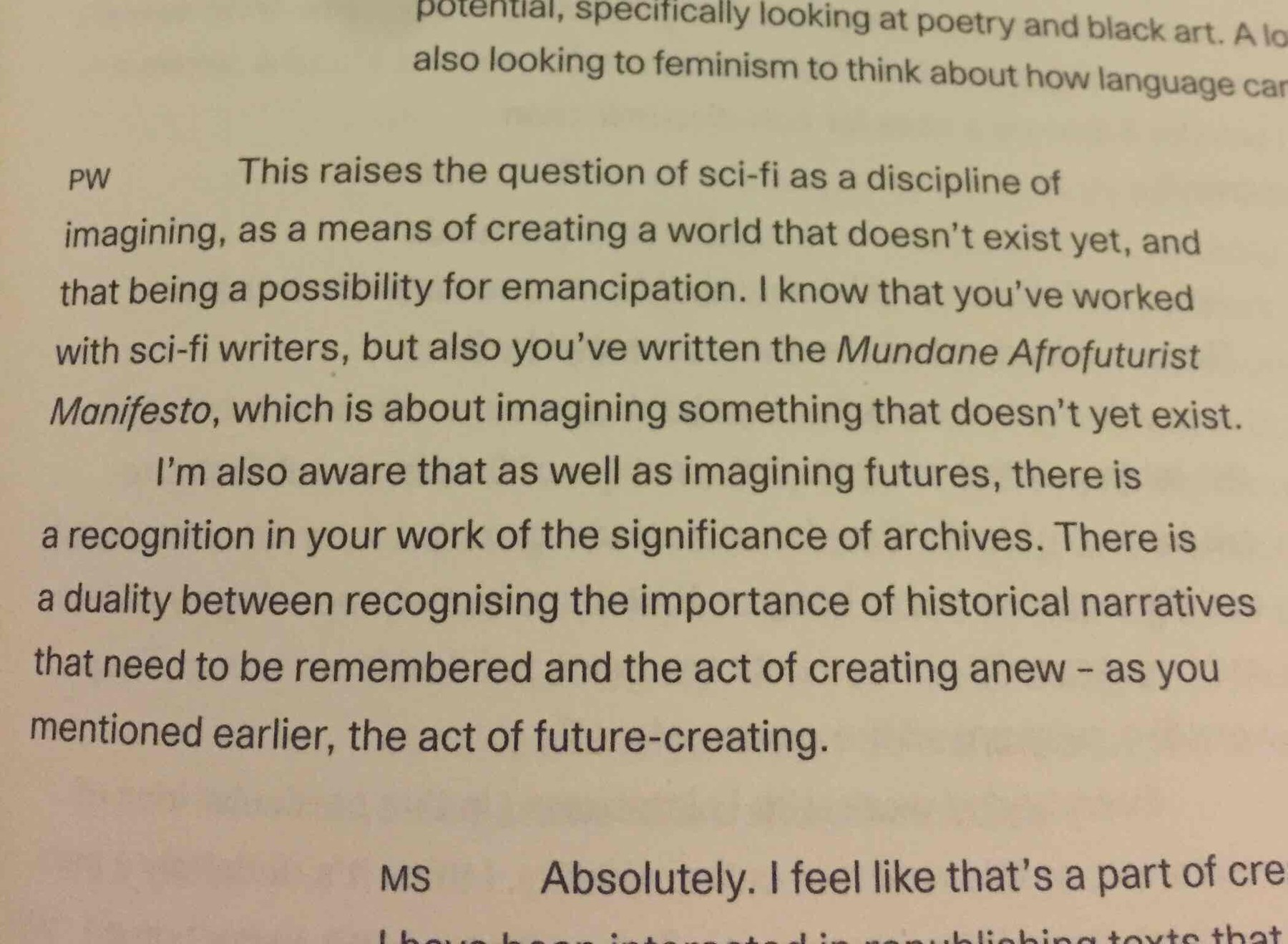 Martine Syms in Distributed