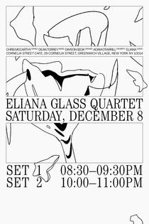 Eliana Glass Quartet - Dec. 8