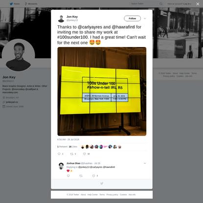 Jon Key on Twitter