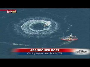 ROUND & ROUND: Abandoned boat circles off Seattle coast, catches viewers across U.S.