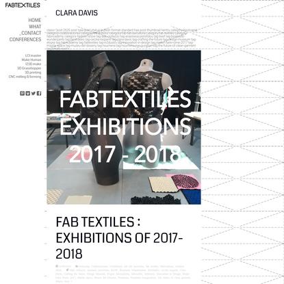 Clara Davis | FabTextiles