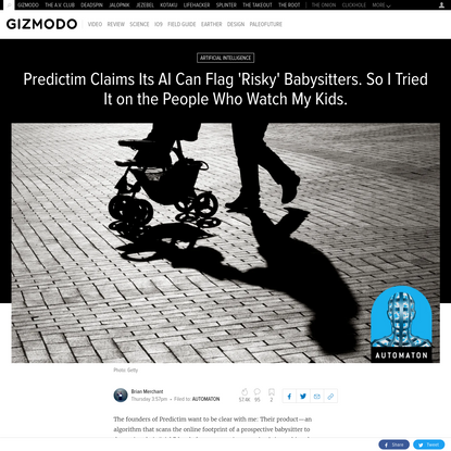 I Tried Predictim's AI Scan for 'Risky' Babysitters on People I Trust