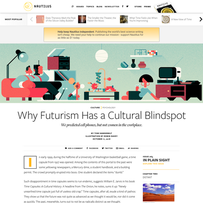 Why Futurism Has a Cultural Blindspot - Issue 65: In Plain Sight - Nautilus