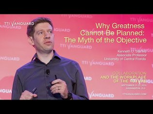 Kenneth Stanley: Why Greatness Cannot Be Planned: The Myth of the Objective