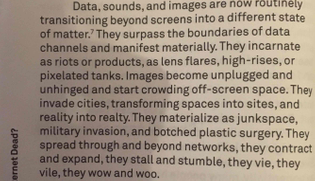 """From """"Too Much World: Is The Internet Dead"""" by Hito Steyerl in e-flux"""