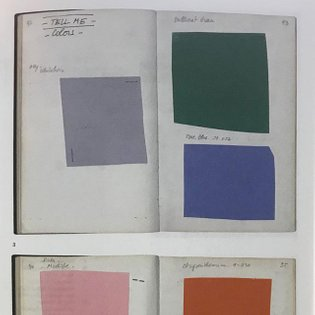 Guy de Cointet, research 1987-1979