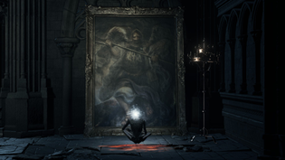 Dark Souls 3 - Ascended Winged Knight painting
