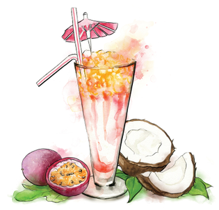 mavericks-cocktail-bar-illustrations-watercolor-graphic-miami-vice-watercolours-front-cover-illustrated-by-leona-beth.jpg