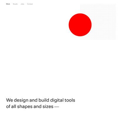O/M: A product design studio in San Francisco