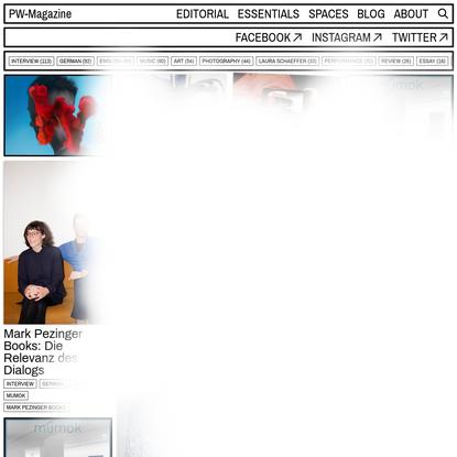 PW-Magazine - Online Magazine for Contemporary Culture