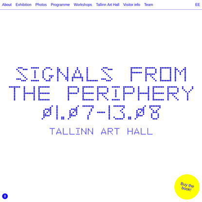Signals from the Periphery