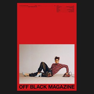 New issue of Off Black Magazine is coming very soon. Cover 3/6. Photography @charlottehadden Fashion @grace_joel Model @feis...