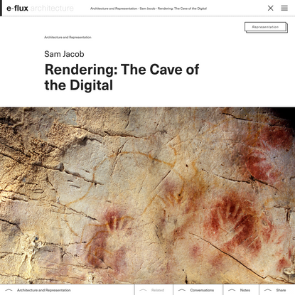 Rendering: The Cave of the Digital