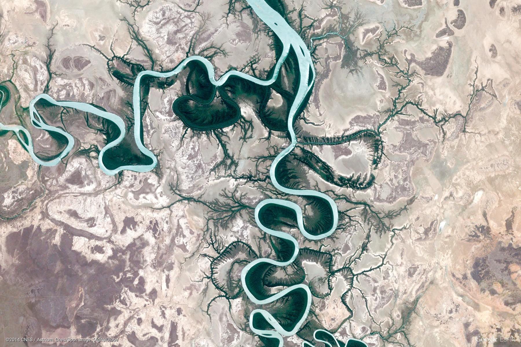 Burketown, Australia (Google Earth View 2385)