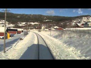 Cab Ride Norway : Trondheim - Bodø (Winter) Nordland Line