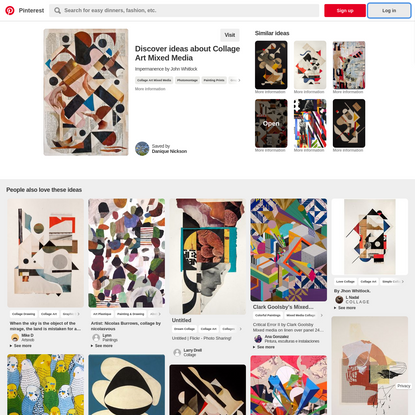 Impermanence | John Whitlock | Art | Pinterest | Collage, Art and Collage Art