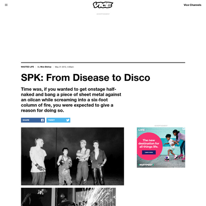 SPK: From Disease to Disco