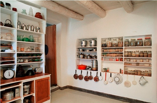 georgia o'keeffe's pantry