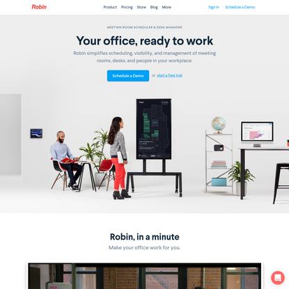 Conference Room Scheduling Software & Hot Desking Tools   Robin