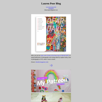 Lauren Poor Blog