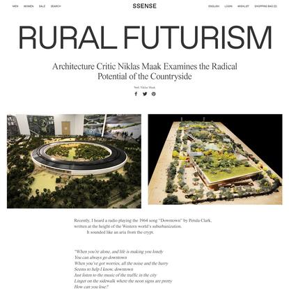 Rural Futurism