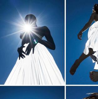 Priscavera Reflective Skirt for Playboy 2019