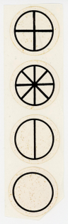 Gregg Wager - Adjacent Lines and Equal Parts Promotional Stickers