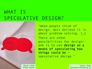 What is Speculative Design?