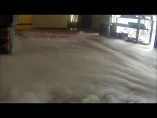 How to make THICK fog with a smoke machine and Dry Ice