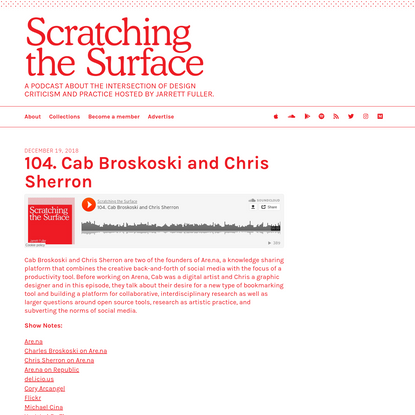 104. Cab Broskoski and Chris Sherron