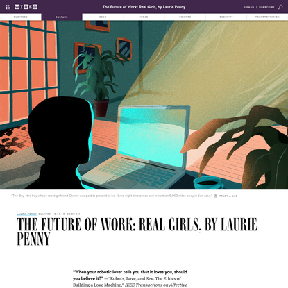The Future of Work: Real Girls, by Laurie Penny