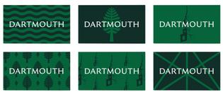 Dartmouth College identity (designed by Original Champions of Design)