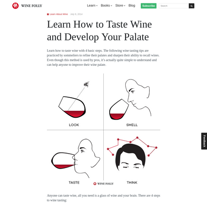 How to Taste Wine and Develop Your Palate   Wine Folly