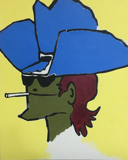 gonzales-mark_the-marbrol-boy-in-puke-green-with-blue-cowboy-hat-smokeing-2018-819x1024.jpg
