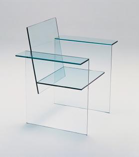 Glass Chair