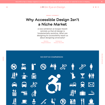 Why Accessible Design Isn't a Niche Market