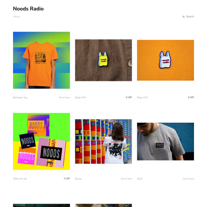 Welcome to Noods Radio