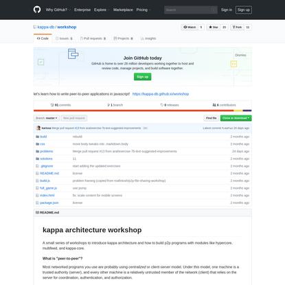 kappa-db/workshop