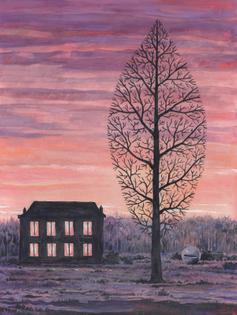 René Magritte, La recherche de l'absolu, 1963