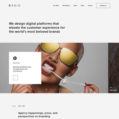 BASIC™   Branding, Digital Design, & eCommerce Agency