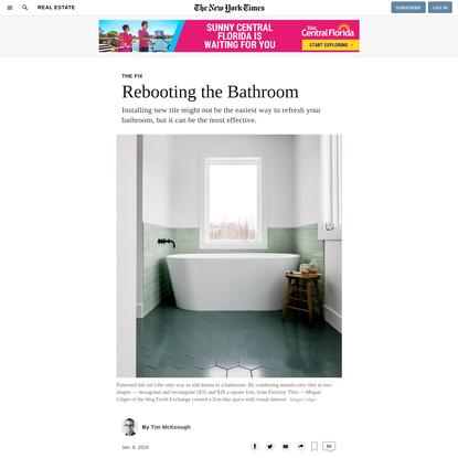 Rebooting the Bathroom
