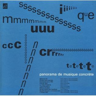 Premier Panorama De Musique Concrète (Cover)
