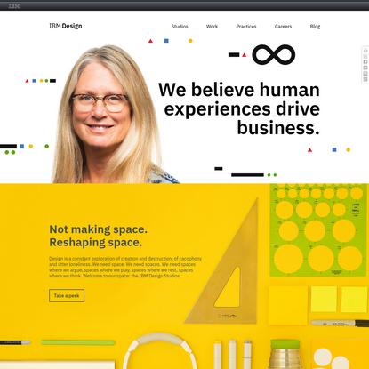 IBM Design: design in motion